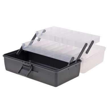 Opberg box antraciet 30 cm