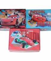 3x disney cars opbergboxen opbergdozen van karton